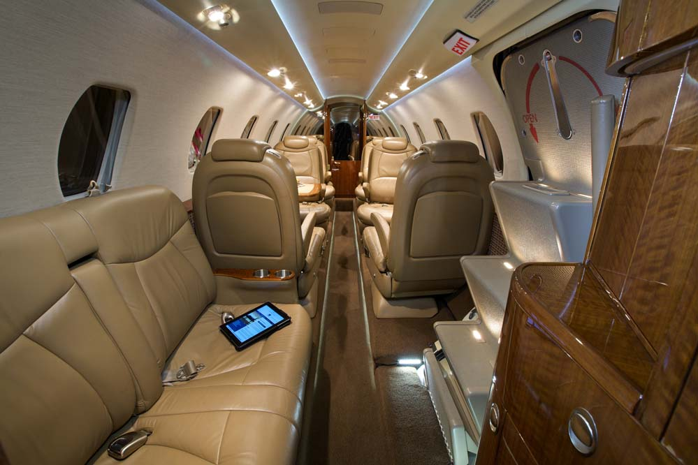 Citation Excel interior