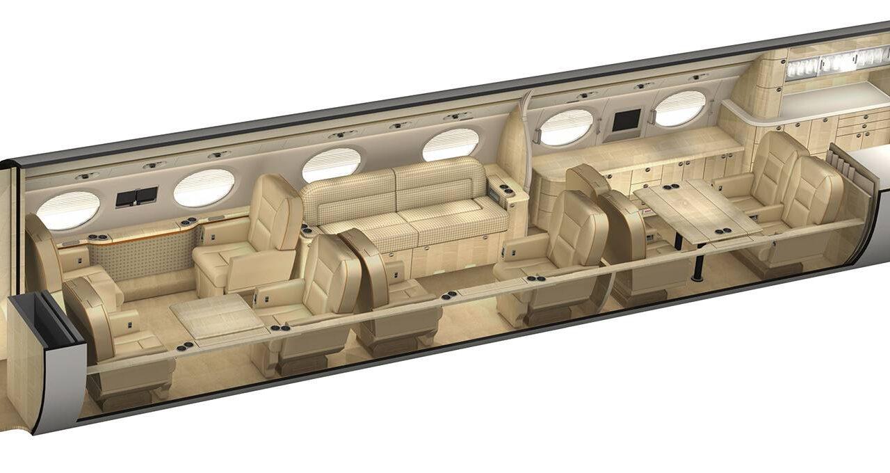 Gulfstream G450 Stock Photo 3