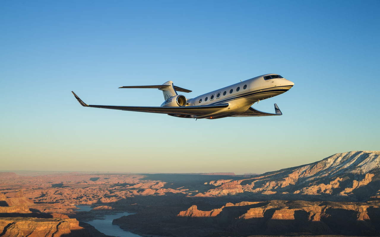 Gulfstream G650 option 2 for brochure